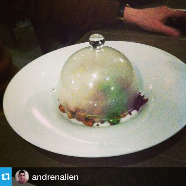 #Repost from @andrenalien --- Amazing dinner, with amazing friends! Last night, a special private dinner at my friend and amazing chef's new restaurant Ampersand27. If you are in #yeg check it out! #ampersand27yeg #amazingfood #amazingdrinks #beautifulrestaurant #yegfood #food