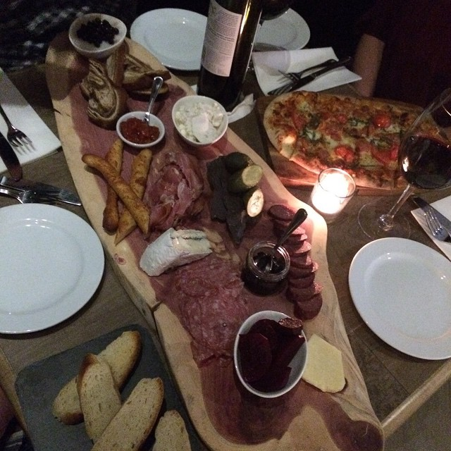 Friday Night Dinner!!! #ampersand27 #dinner #foodporn #yeg #fridaynight #yummy #food #goodtimes #meats #cheese #breads #wine