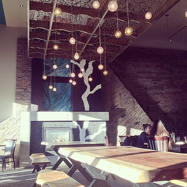 Good morning! Sun is shining outside and we are almost ready for lunch. #ampersand27yeg #yeg #yegfood #yegfoodies #eatlocal #restaurant #decor #sun #lunch #coffee #food for #foodies #exploreedmonton Picture via @morgen_rae