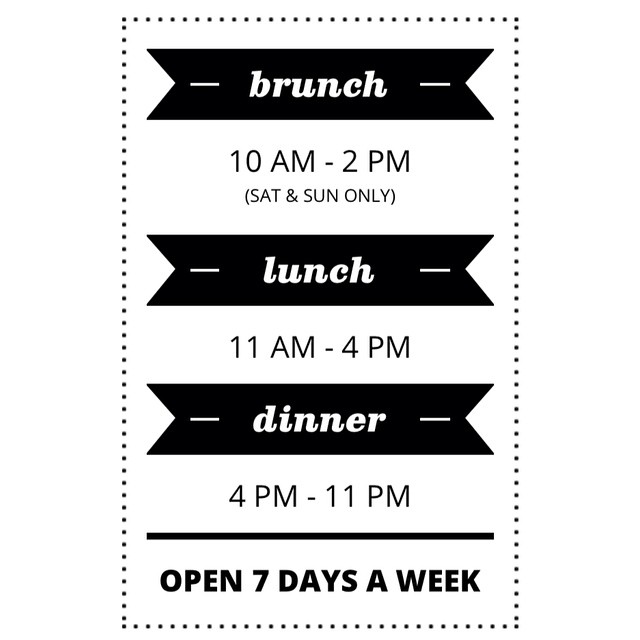 Good morning folks! We are open 7 days a week for lunch, brunch and dinner. Make your monday a better day and let's have lunch together. #ampersand27yeg #yeg #yegfood #edmonton #brunch #lunch #dinner #coffee #foodies