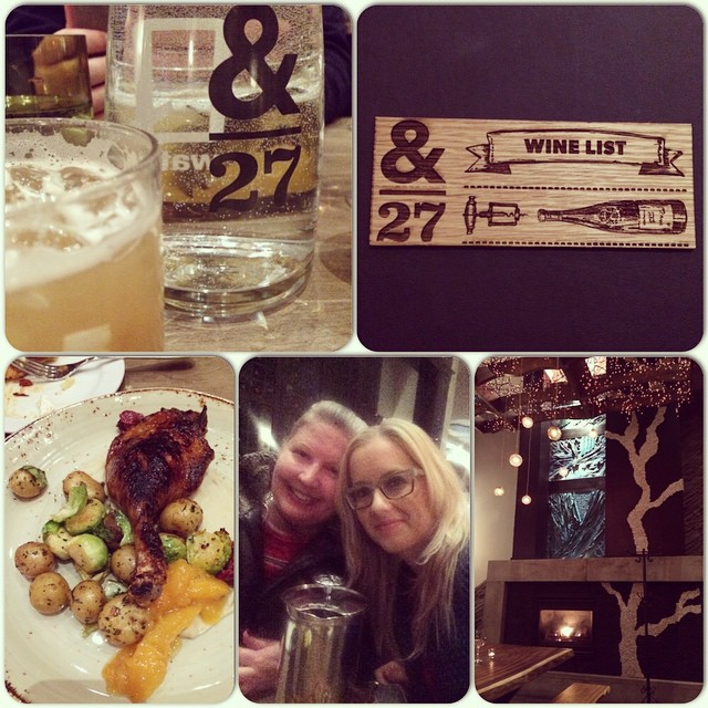 Great supper at #ampersand27 #ampersand27yeg #customboard #duckfat #yummy