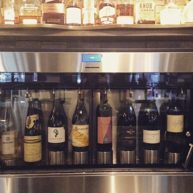 It's wine o'clock at &27. #ampersand27yeg #yeg #yegfood #yegwine #yeglife #wine #bar #lounge #dinner #wineoclock #cocktail #drink #food #instafood #instawine #glass #tbt #exploreedmonton #celebrate #friends #family