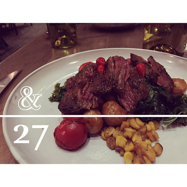 Last #Christmas dinner before the #NewYear! #Ampersand27 #WhyteAve #Yeg