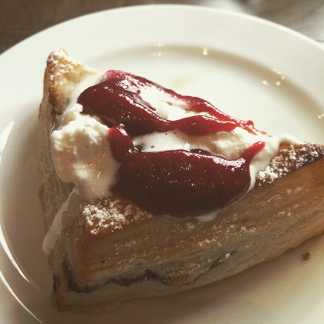 Best scones of all time #instagram #instagood #photooftheday #yeg #restaurant #ampersand27 #food #brunch #somuchgood #ohmygod #delicious #divine