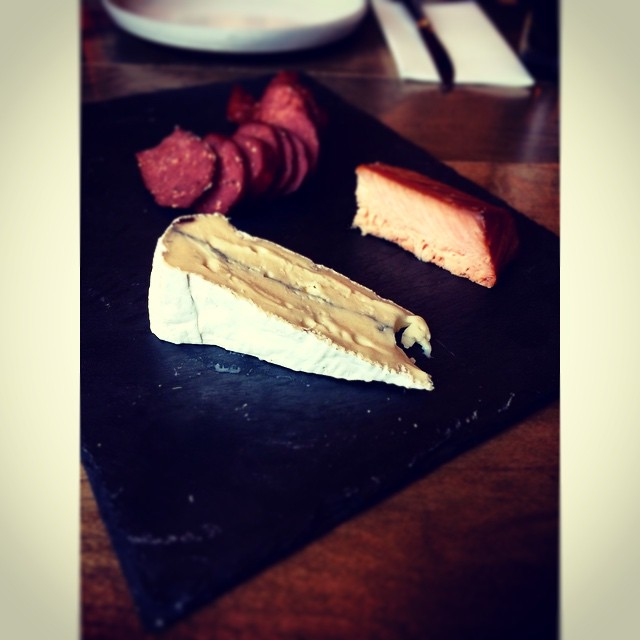 #Brie #Bison #Salmon #charcuterie #ampersand27