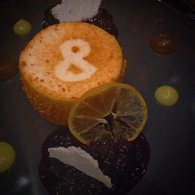 #ampersand27 #lemon #cheesecake #earlgreytea #yegeats #whyteave