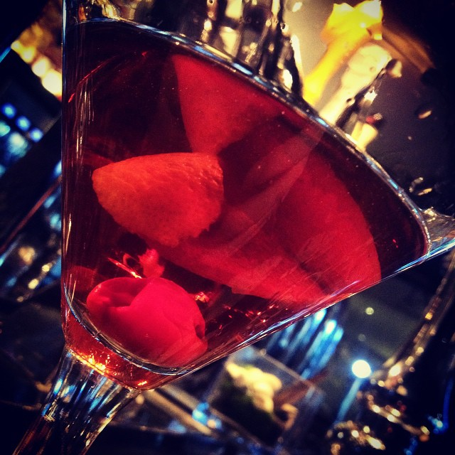 Hello Mr. Manhattan. Looking so handsome. Come enjoy a cocktail at ampersand27. Don't forget to ask for one of our cherries ;) #ampersand27 #foodporn #yegfoodies #yeg #yegfood #edmonton #edmontonfood #foodnetwork
